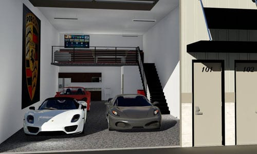 Man Cave Storage Locations : Island storage suites climate controlled customizable
